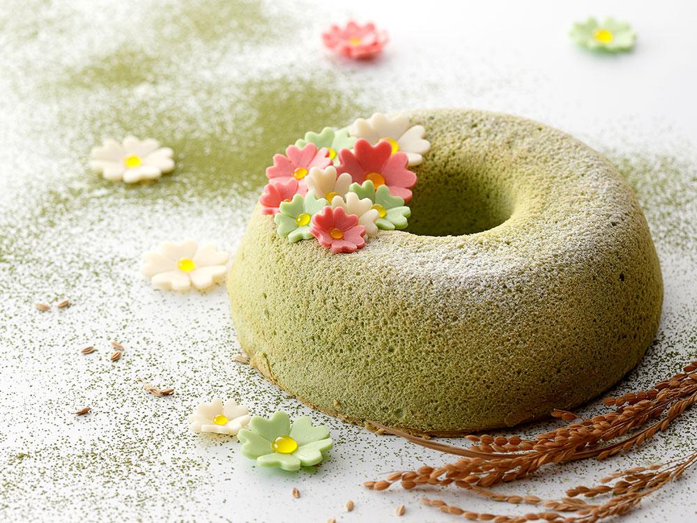 抹茶米蛋糕