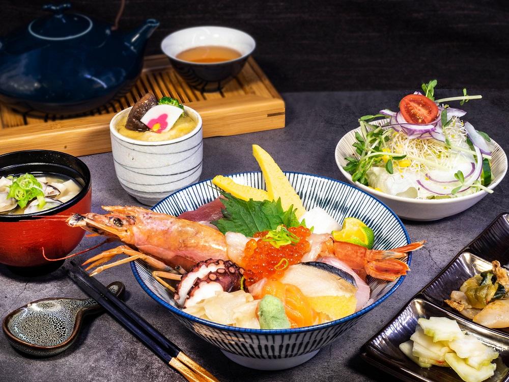 舞饌特選海鮮丼定食