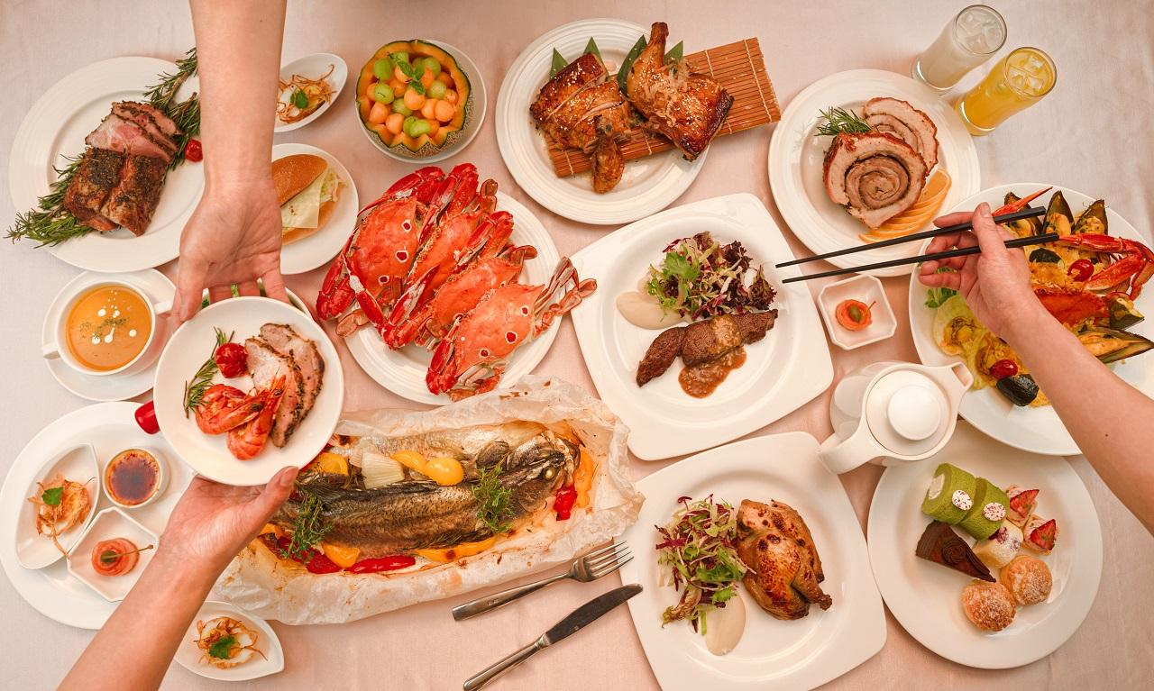 圖2. 宜蘭綠舞蝶舞咖啡廳推出全新Semi Buffet,即日起於週五至週日晚餐時段供應,每位NT$980+10%,房客再享75折優惠。